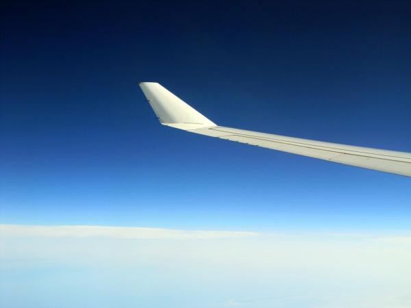 31 Landeanflug